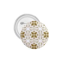 Pattern Gold Floral Texture Design 1 75  Buttons by Nexatart