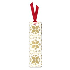 Pattern Gold Floral Texture Design Small Book Marks by Nexatart