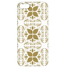 Pattern Gold Floral Texture Design Apple Iphone 5 Hardshell Case With Stand by Nexatart