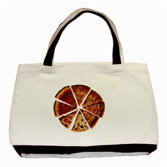 Food Fast Pizza Fast Food Basic Tote Bag by Nexatart