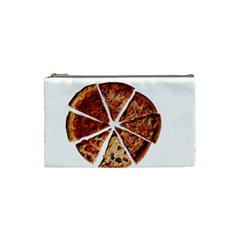 Food Fast Pizza Fast Food Cosmetic Bag (small)  by Nexatart