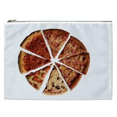 Food Fast Pizza Fast Food Cosmetic Bag (xxl)