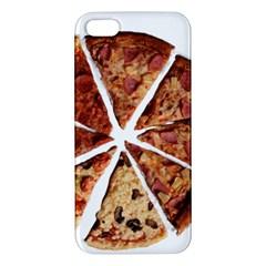 Food Fast Pizza Fast Food Apple Iphone 5 Premium Hardshell Case by Nexatart