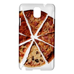 Food Fast Pizza Fast Food Samsung Galaxy Note 3 N9005 Hardshell Case by Nexatart