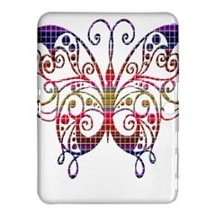 Butterfly Nature Abstract Beautiful Samsung Galaxy Tab 4 (10 1 ) Hardshell Case