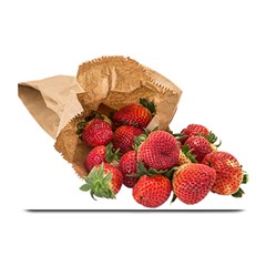 Strawberries Fruit Food Delicious Plate Mats