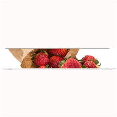 Strawberries Fruit Food Delicious Small Bar Mats by Nexatart