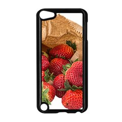 Strawberries Fruit Food Delicious Apple Ipod Touch 5 Case (black) by Nexatart