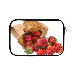 Strawberries Fruit Food Delicious Apple Ipad Mini Zipper Cases by Nexatart