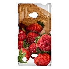 Strawberries Fruit Food Delicious Nokia Lumia 720 by Nexatart