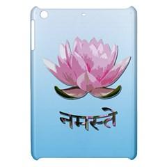 Namaste   Lotus Apple Ipad Mini Hardshell Case by Valentinaart