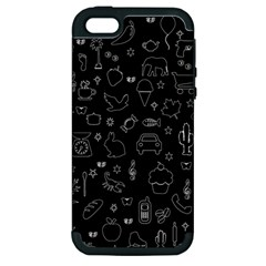 Rebus Apple Iphone 5 Hardshell Case (pc+silicone) by Valentinaart