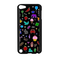 Rebus Apple Ipod Touch 5 Case (black) by Valentinaart