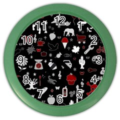 Rebus Color Wall Clocks by Valentinaart