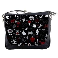 Rebus Messenger Bags by Valentinaart