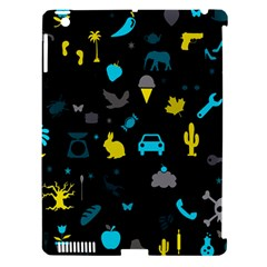Rebus Apple Ipad 3/4 Hardshell Case (compatible With Smart Cover) by Valentinaart