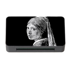 The Girl With The Pearl Earring Memory Card Reader With Cf by Valentinaart