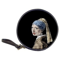 The Girl With The Pearl Earring Classic 20 Cd Wallets by Valentinaart