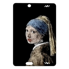 The Girl With The Pearl Earring Amazon Kindle Fire Hd (2013) Hardshell Case by Valentinaart