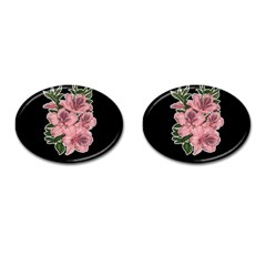 Orchid Cufflinks (oval) by Valentinaart