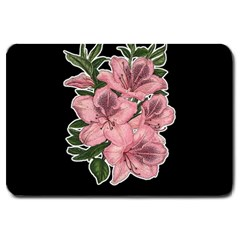 Orchid Large Doormat  by Valentinaart