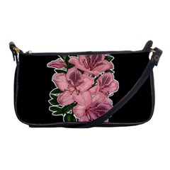 Orchid Shoulder Clutch Bags by Valentinaart