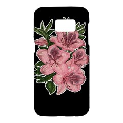Orchid Samsung Galaxy S7 Hardshell Case  by Valentinaart