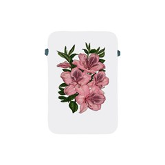 Orchid Apple Ipad Mini Protective Soft Cases by Valentinaart