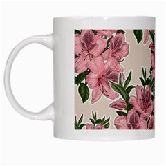 Orchid White Mugs by Valentinaart