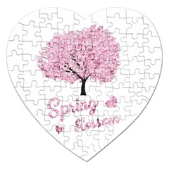 Spring Blossom  Jigsaw Puzzle (heart) by Valentinaart