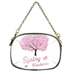 Spring Blossom  Chain Purses (one Side)  by Valentinaart
