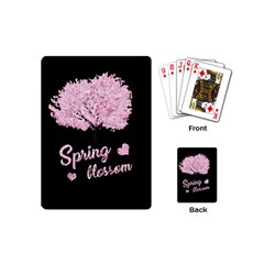 Spring Blossom  Playing Cards (mini)  by Valentinaart
