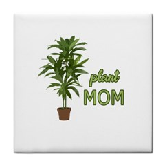 Plant Mom Tile Coasters by Valentinaart