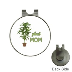 Plant Mom Hat Clips With Golf Markers by Valentinaart