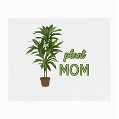 Plant Mom Small Glasses Cloth by Valentinaart