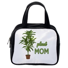 Plant Mom Classic Handbags (one Side) by Valentinaart