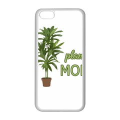 Plant Mom Apple Iphone 5c Seamless Case (white) by Valentinaart