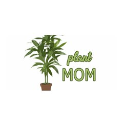 Plant Mom Satin Wrap by Valentinaart