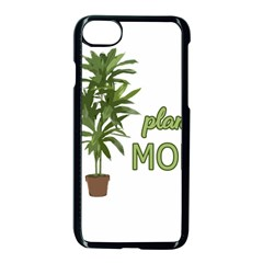 Plant Mom Apple Iphone 7 Seamless Case (black) by Valentinaart