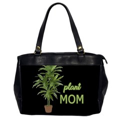 Plant Mom Office Handbags (2 Sides)  by Valentinaart