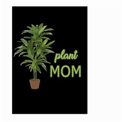 Plant Mom Large Garden Flag (two Sides) by Valentinaart