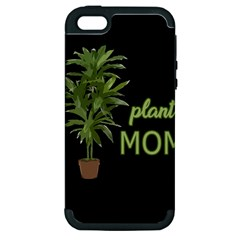 Plant Mom Apple Iphone 5 Hardshell Case (pc+silicone) by Valentinaart