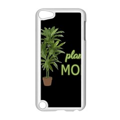 Plant Mom Apple Ipod Touch 5 Case (white) by Valentinaart