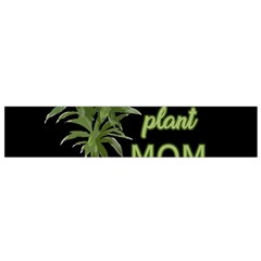 Plant Mom Flano Scarf (small) by Valentinaart