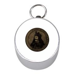 Count Vlad Dracula Mini Silver Compasses by Valentinaart