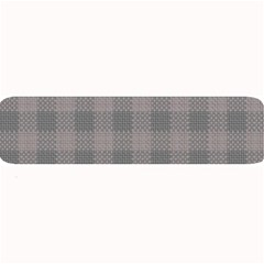 Plaid Pattern Large Bar Mats by ValentinaDesign