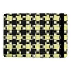Plaid Pattern Samsung Galaxy Tab Pro 10 1  Flip Case by ValentinaDesign