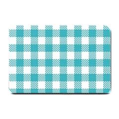 Plaid Pattern Small Doormat  by ValentinaDesign