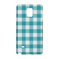 Plaid Pattern Samsung Galaxy Note 4 Hardshell Case by ValentinaDesign