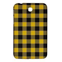 Plaid Pattern Samsung Galaxy Tab 3 (7 ) P3200 Hardshell Case  by ValentinaDesign